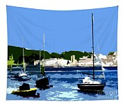 Boats On Strangford Lough Tapestry