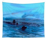Boats On The Chesapeake Bay Tapestry