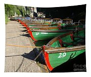 Rowboats Tapestry
