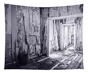 Bodie California In Black And White Tapestry