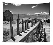 Bodie California Long Dusty Road Tapestry