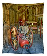 Bodie Fire Dept Water Pumper Img 7310 Tapestry