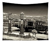 Bodie Gas Station Tapestry