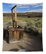 Bodie Ghost Town At The Well Tapestry