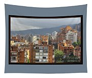 Bogota City View Tapestry