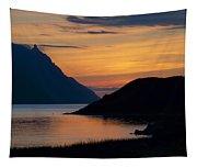 Bonne Bay Sunset Tapestry