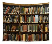 Bookshelves Tapestry