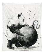 Boom Panda Tapestry