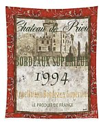 Bordeaux Rouge 2 Tapestry