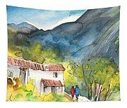 Borgo In Italy 01 Tapestry
