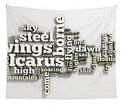 Borne On Wings Of Steel Tapestry