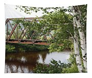 Boston And Maine Railroad - Bretton Woods New Hampshire Usa Tapestry