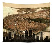 Boston Old And New Tapestry