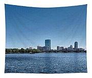 Boston Skyline II Tapestry