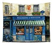 Boulangerie De Montmartre Tapestry
