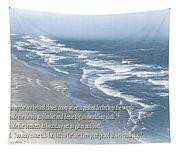 Boundaries Of Beaches Tapestry