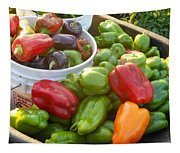 Bountiful Peppers Tapestry