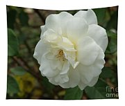 Bountiful White Rose... Tapestry