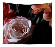 Bouquet With Rose Tapestry