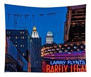Bourbon Street And Cbd Lights  Tapestry