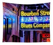 Bourbon Street Blues Tapestry