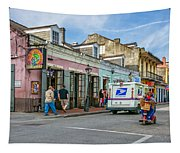 Bourbon Street - Let The Party Begin Tapestry