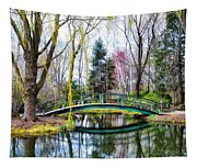 Bow Bridge - Grounds For Schulpture Tapestry