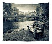 Bow Bridge Nostalgia Tapestry