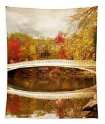 Bow Bridge Reflected Tapestry by Jessica Jenney