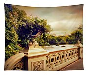 Bow Bridge View Tapestry