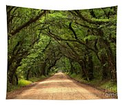 Bowing Oak Trees Tapestry