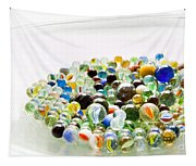 Bowl Of Marbles Tapestry