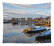 Bowling Harbour Panorama 01 Tapestry