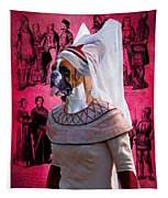 Boxer Art Canvas Print Tapestry