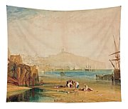 Boys Catching Crabs Tapestry