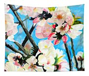 Branches Of Almond Tree Tapestry