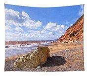 Branscombe Beach - Impressions Tapestry