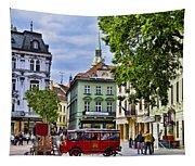Bratislava Town Square Tapestry