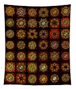 Breakfast Bagels Dingbat Quilt Tapestry