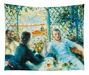 Breakfast By The River Tapestry