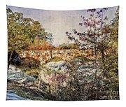 Bridge At Rock City Tapestry