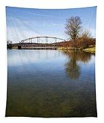 Bridge At Upper Lisle Tapestry