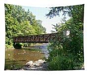 Bridge At Waubonsie Creek Tapestry