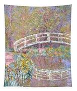 Bridge In Monet's Garden Tapestry