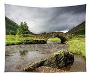 Bridge Over River, Scotland Tapestry