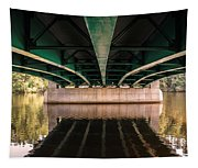 Bridge Over The Connecticut River Tapestry