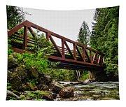 Bridge Over The Snoqualmie River - Washington Tapestry