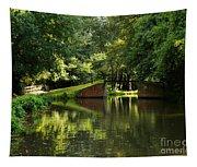 Bridge Over The Wey Navigation In Surrey Tapestry