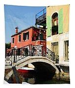 Bridges Of Venice Tapestry