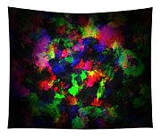 Bright Colors Of Paint Tapestry